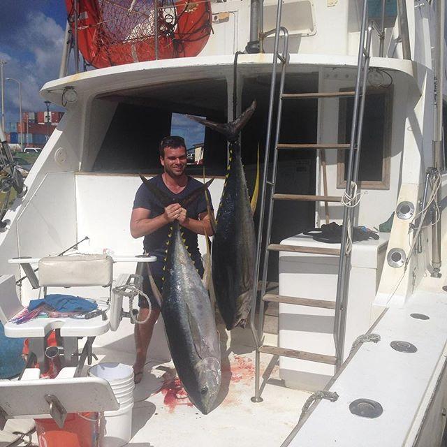 Sport Fishing Charter Kauai - Two big catches