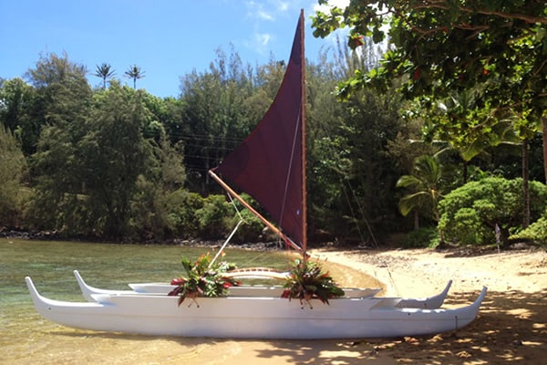 Hawaiian Sailing Canoe