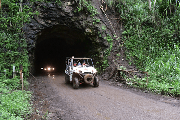 Kauai ATV Tours - Cave exploration