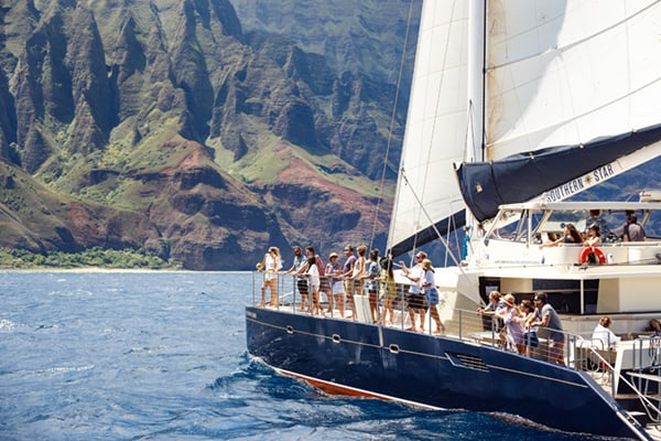 Napali Coast Catamaran Boat Tour