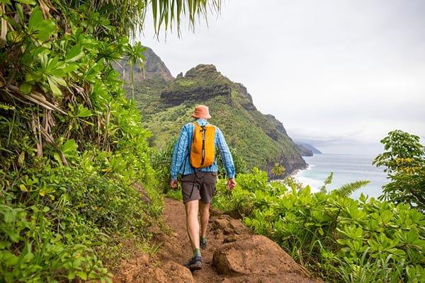 Private guided hiking tour around Kauai