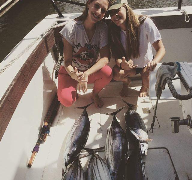 Sisters that caught plenty