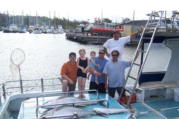 sport fishing Kauai