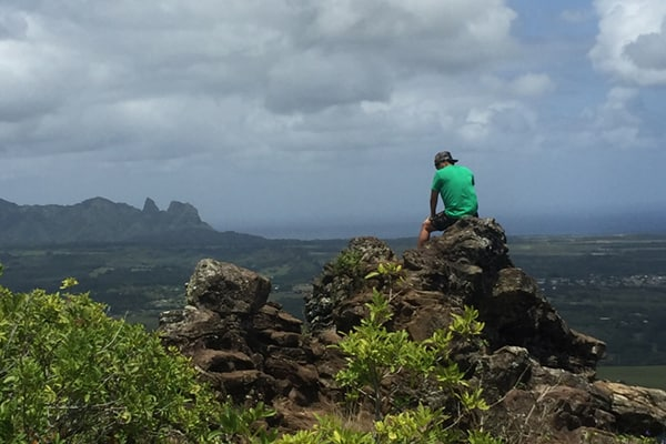 NOUNOU MOUNTAIN TRAIL in Kauai