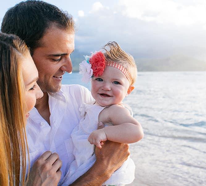 Family photography Kauai
