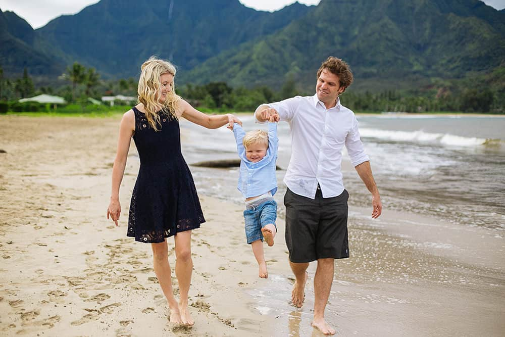 Kauai Family Photo Hanalei Bay