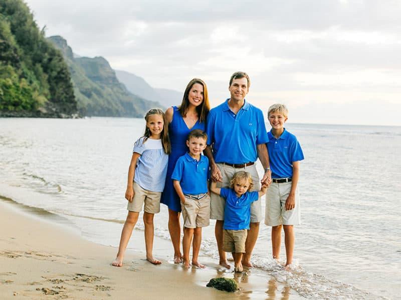 Kauai Family Group Photo