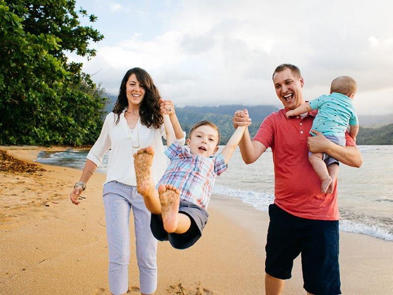Princeville family photoshoot
