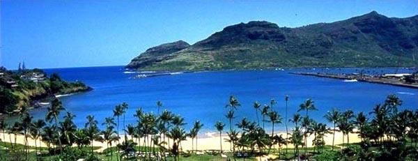 Kalapaki Bay Kauai