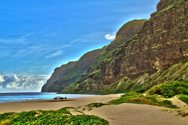 Polihale State Park Kauai