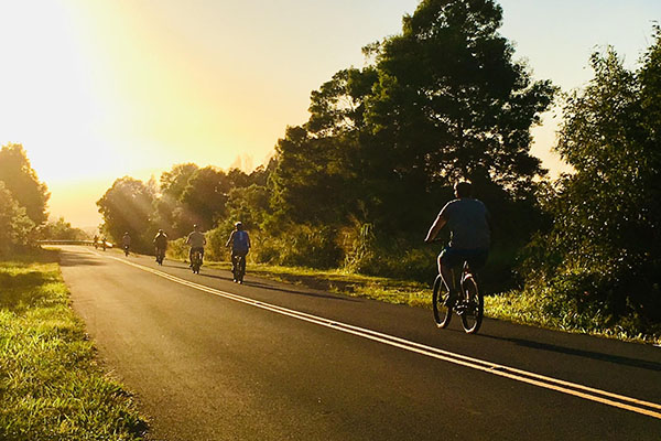 Sunset Downhill Bike Tour Kauai