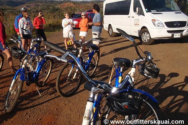 Waimea Canyon Downhill Tour Gathering