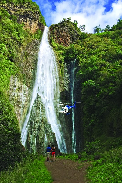 Jurassic Falls Helicopter Landing Tour