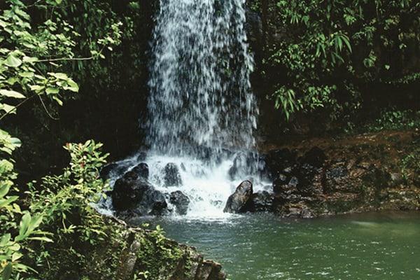 Kalihiwai Waterfall